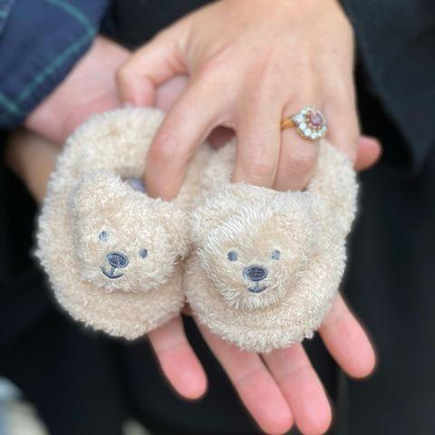 "<p>Princess Eugenie and Jack announced they were expecting their first child in September 2020. ""Jack and I are so excited for early 2021..."" she wrote on Instagram alongside a photo of fuzzy baby slippers.</p>"