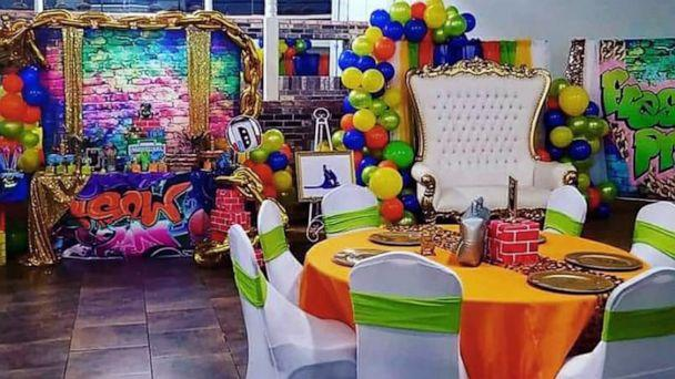 PHOTO: Chaunae Berry had a baby shower inspired by 'The Fresh Prince of Bel-Air.' (Courtesy of Chaunae Berry)