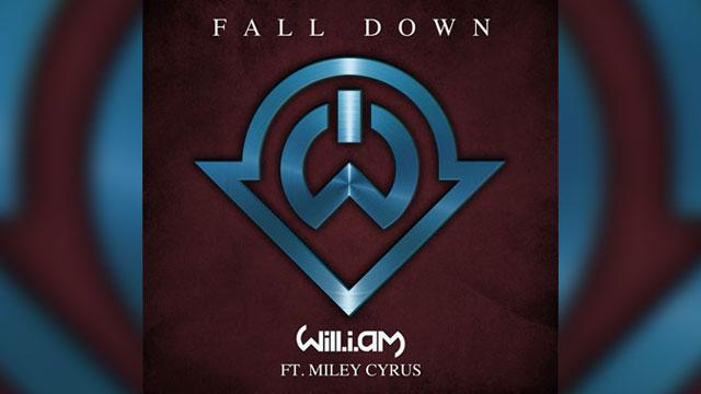 Listen to Miley Cyrus & will.i.am 'Fall Down'