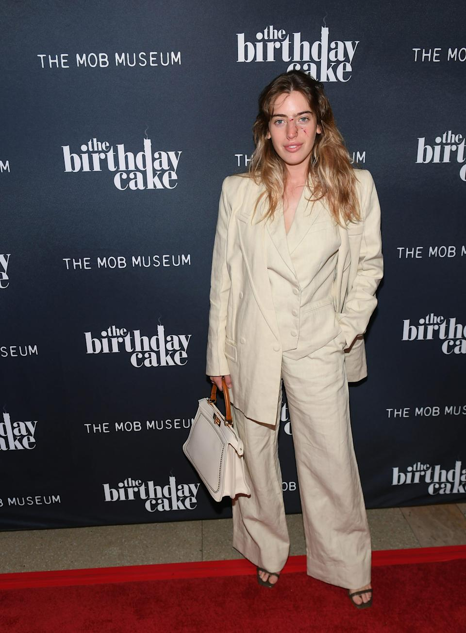 """Actress Clara McGregor attends the world premiere of """"The Birthday Cake"""" at The Mob Museum on June 11, 2021 in Las Vegas, Nevada."""
