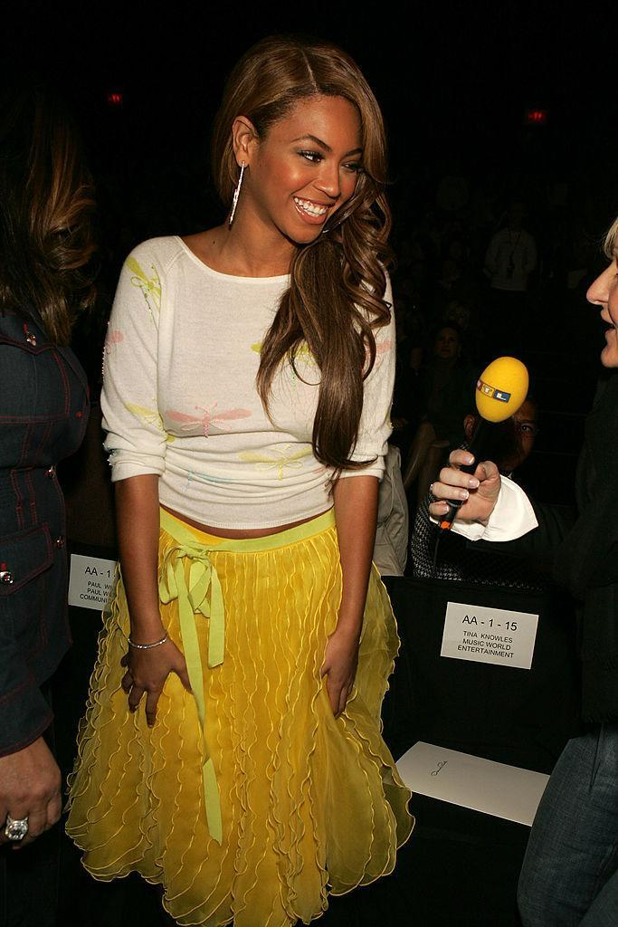 <p>Back when Bey had a lot to learn about fashion. <i>(Frazer Harrison/Getty Images)</i></p>