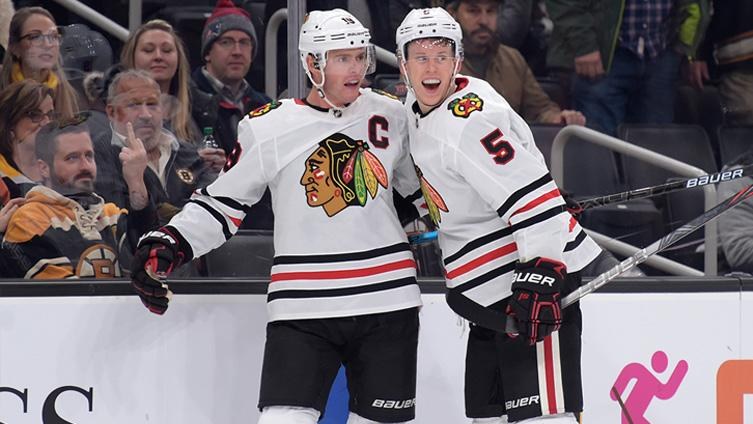 Blackhawks pick up marquee overtime win in Boston, but will it serve as jump-start to something bigger?