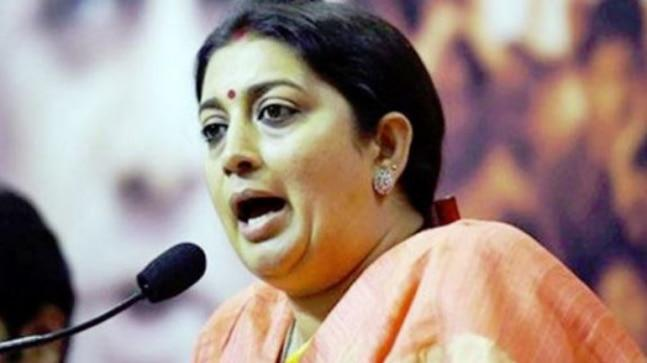Union minister Smriti Irani will once again take on Congress chief Rahul Gandhi from Amethi for the second time.