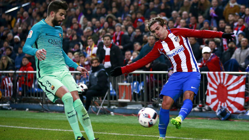 I haven't betrayed Barca – Pique defends role in Griezmann documentary
