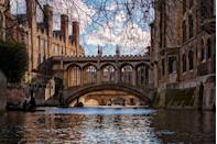 """<p>Cambridge certainly lives up to its name as one of the most picturesque university towns. Built around the river cam, explore the incredible university building (King's College Chapel is a must), hire a punt for the day or grab an afternoon tea at one of the central cafes. </p><p><a class=""""link rapid-noclick-resp"""" href=""""https://go.redirectingat.com?id=127X1599956&url=https%3A%2F%2Fwww.airbnb.co.uk%2Fs%2Fcambridge%2Fhomes%3Ftab_id%3Dhome_tab%26refinement_paths%255B%255D%3D%252Fhomes%26source%3Dstructured_search_input_header%26search_type%3Dsearch_query&sref=https%3A%2F%2Fwww.cosmopolitan.com%2Fuk%2Fentertainment%2Ftravel%2Fg30397906%2Fbest-places-to-visit-uk%2F"""" rel=""""nofollow noopener"""" target=""""_blank"""" data-ylk=""""slk:BOOK NOW"""">BOOK NOW</a></p>"""