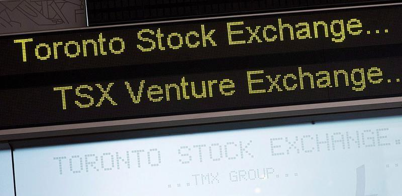 S&P/TSX composite closes down as gold price sinks to lowest level in two months