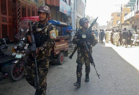 Armed men stormed state Radio, Television building in Jalalabad, Afghanistan