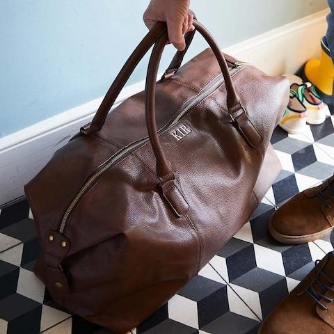 Duncan Stewart Personalised Weekend Holdall - Credit: Not On The High Street