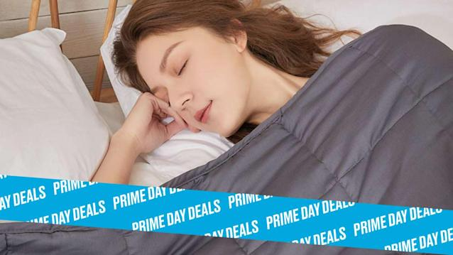 Photo Illustration by Elizabeth Brockway/The Daily Beast * Get 20% off on the ZonLi Weighted Blanket * Choose between 15- or 20-pound blankets in a range of sizes. Read more about its features here. * Shop the rest of our other Prime Day deal picks here. Not a Prime member yet? Sign up here.You haven't lived until you've felt the weight of a heavy blanket envelope you like a cocoon. Its premium bamboo blend material is filled with glass bleeds that provide a cooling effect, which will help you fall—and stay—asleep. A variety of color options like Navy Blue, Pink and Purple, and Sheep Grey ensure your blanket matches your décor perfectly. | Get it on Amazon >Let Scouted guide you to the best Prime Day deals. Shop Here >Scouted is internet shopping with a pulse. Follow us on Twitter and sign up for our newsletter for even more recommendations and exclusive content. Please note that if you buy something featured in one of our posts, The Daily Beast may collect a share of sales.Read more at The Daily Beast.Got a tip? Send it to The Daily Beast hereGet our top stories in your inbox every day. Sign up now!Daily Beast Membership: Beast Inside goes deeper on the stories that matter to you. Learn more.