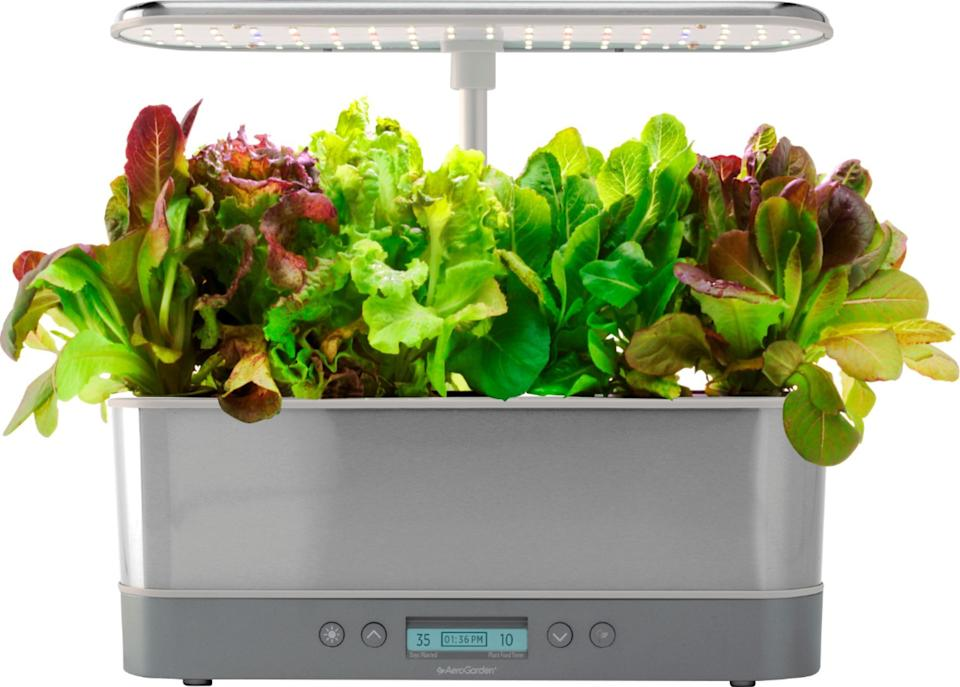 AeroGarden Harvest Elite Slim planter
