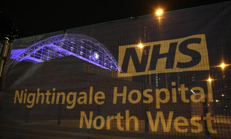 Nightingale to reopen as Liverpool sets new Covid patient record