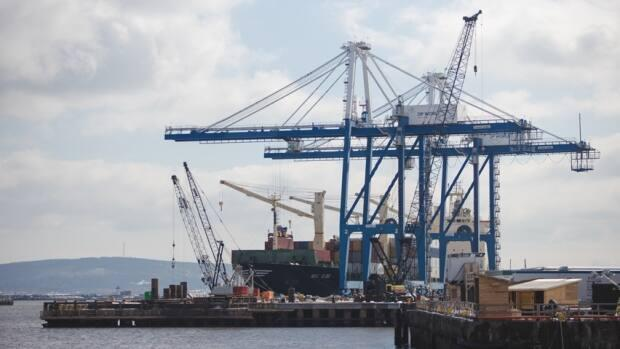 The $205-million west Saint John port modernization project is scheduled to be complete in 2023.