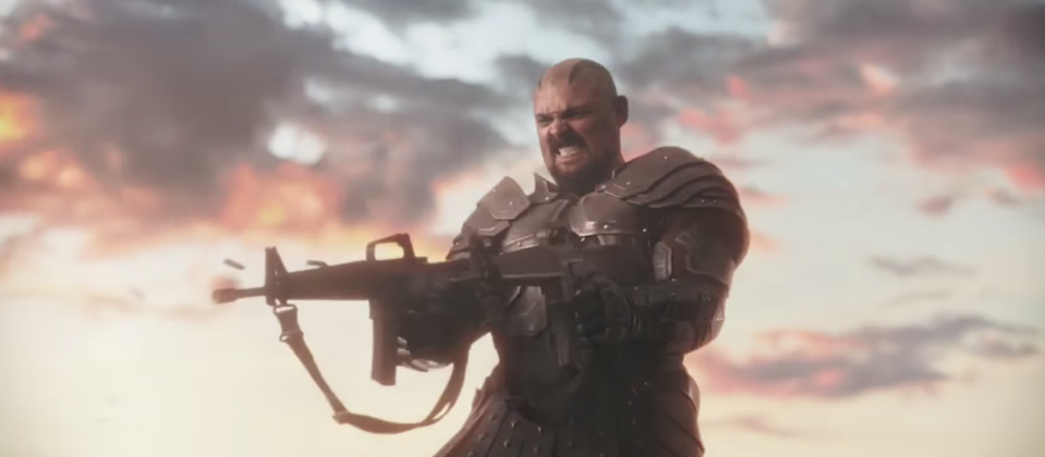 Karl Urban as Skurge in <i>Thor: Ragnarok</i>. (Photo: Marvel Studios)