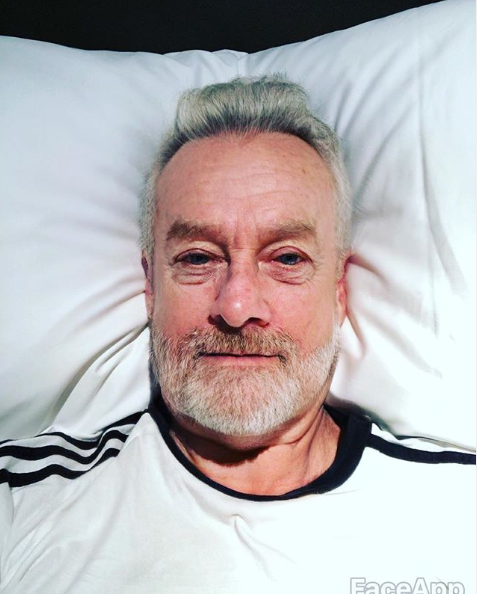 """Grant Denyer's rendition looked shockingly real. """"Bali-belly for 4 days is rather dehydrating,"""" he captioned the snap. Photo: Instagram/grantdenyer"""