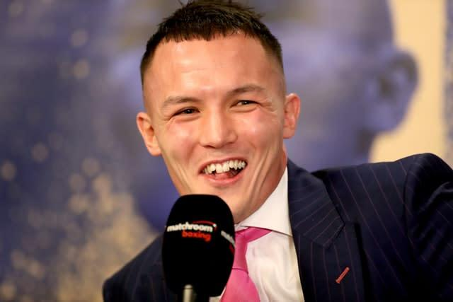 Josh Warrington would love to cap his career with a trip to the US (Bradley Collyer/PA)