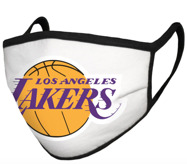 Where to purchase a face mask with your favorite NBA team logo