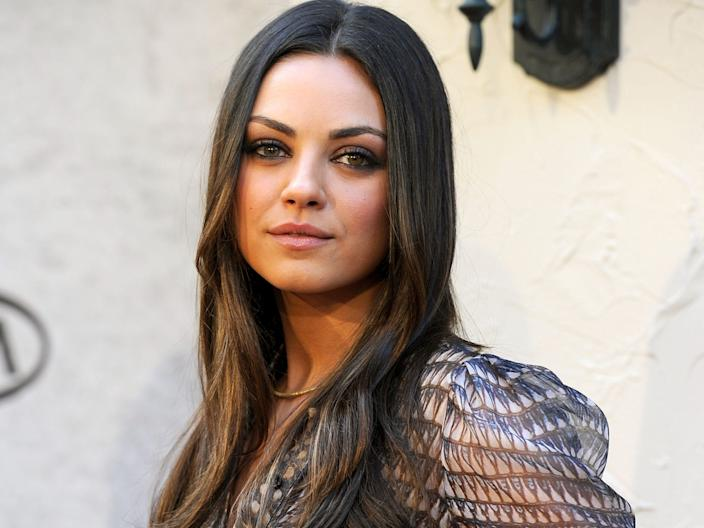 """Mila Kunis' first credited TV role was on the soap opera """"Days of Our Lives."""" <p class=""""copyright"""">Frazer Harrison/Getty Images</p>"""