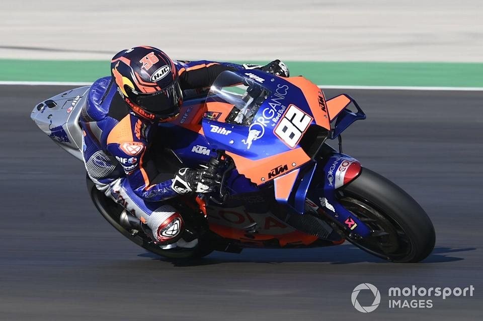 """P22 Mika Kallio, Red Bull KTM Tech 3<span class=""""copyright"""">Gold and Goose / Motorsport Images</span>"""