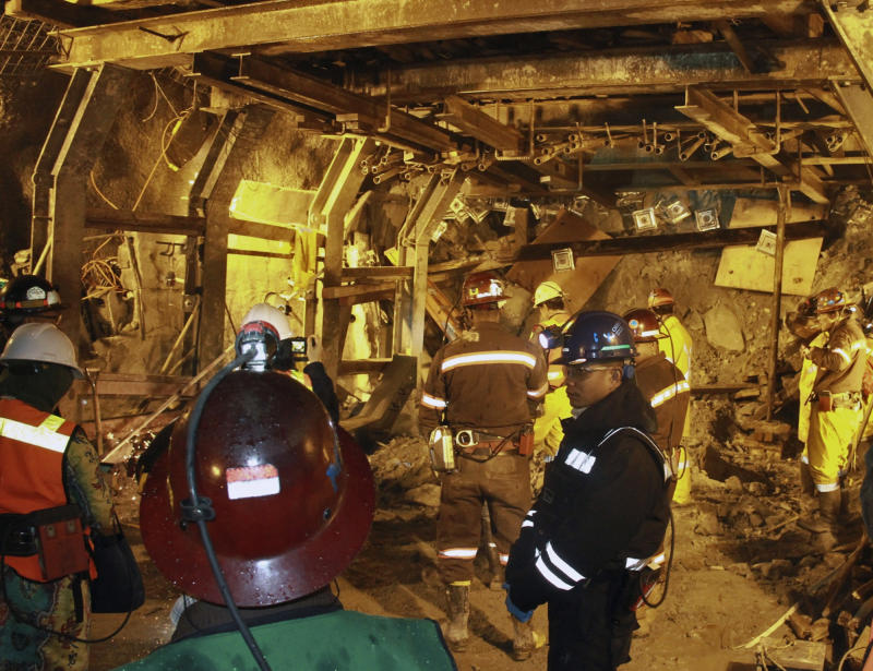 More bodies recovered in collapsed Indonesia mine