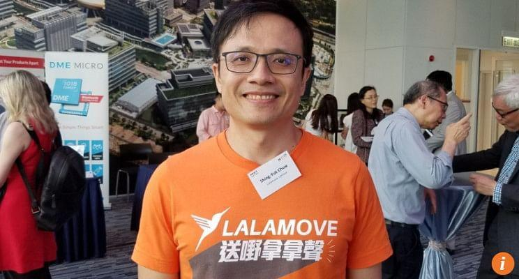 Lalamove founder and CEO Shing Chow