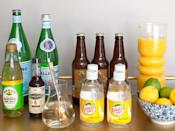 """<div class=""""caption-credit"""">Photo by: Stephanie Stanley</div><div class=""""caption-title"""">The mixers</div>When you've got a party coming up, just stock up on tonic, ginger ale, nonalcoholic ginger beer, bitters, and Rose's lime juice. Fresh lemons and limes are not only the new/old way to bring a tangy citrus element to drinks, but they add the finishing touch to a bar cart when left out in a beautiful antique bowl. <ul> <li> <b><a rel=""""nofollow noopener"""" href=""""http://www.redbookmag.com/recipes-home/tips-advice/party-food-recipes?link=relt&dom=yah_life&src=syn&con=blog_redbook&mag=rbk"""" target=""""_blank"""" data-ylk=""""slk:The 30 Best Party Foods of All Time"""" class=""""link rapid-noclick-resp"""">The 30 Best Party Foods of All Time</a></b> </li> <li> <a rel=""""nofollow noopener"""" href=""""http://www.redbookmag.com/recipes-home/tips-advice/classic-cocktails?link=relt&dom=yah_life&src=syn&con=blog_redbook&mag=rbk"""" target=""""_blank"""" data-ylk=""""slk:6 Classic Cocktails to Sip Now"""" class=""""link rapid-noclick-resp""""><b>6 Classic Cocktails to Sip Now</b></a> </li> </ul>"""