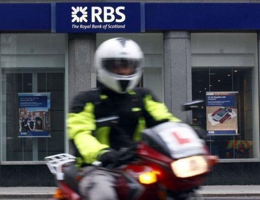 Royal Bank of Scotland falls into third-quarter net loss