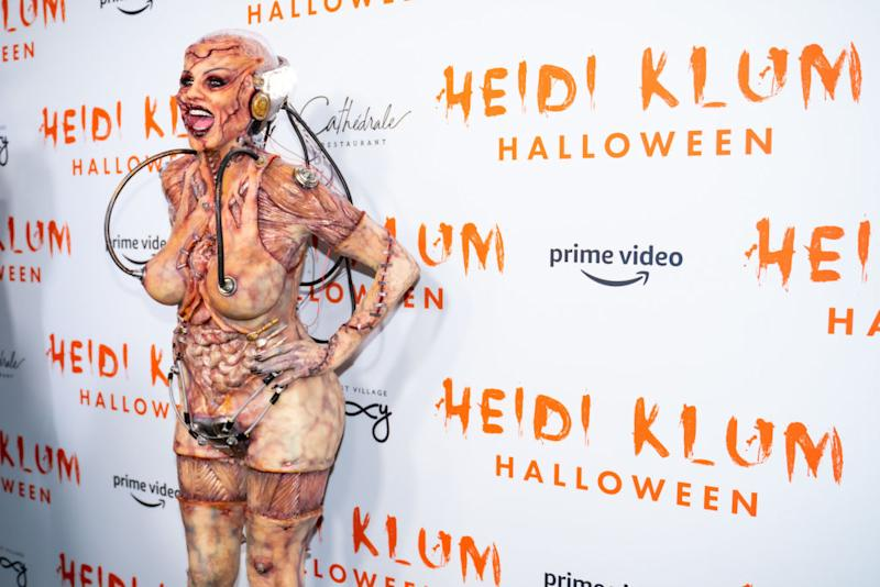 Heidi Klum attends Heidi Klum's 20th Annual Halloween Party. [Photo: Getty]