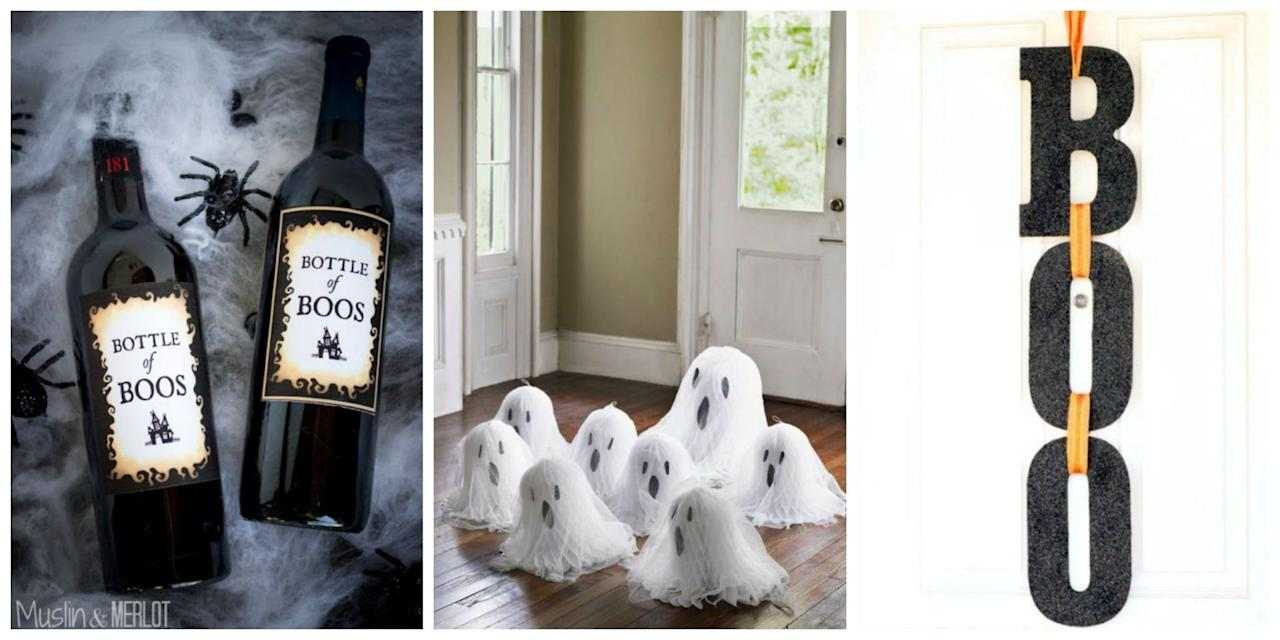 40+ Quick And Easy DIY Halloween Decorations