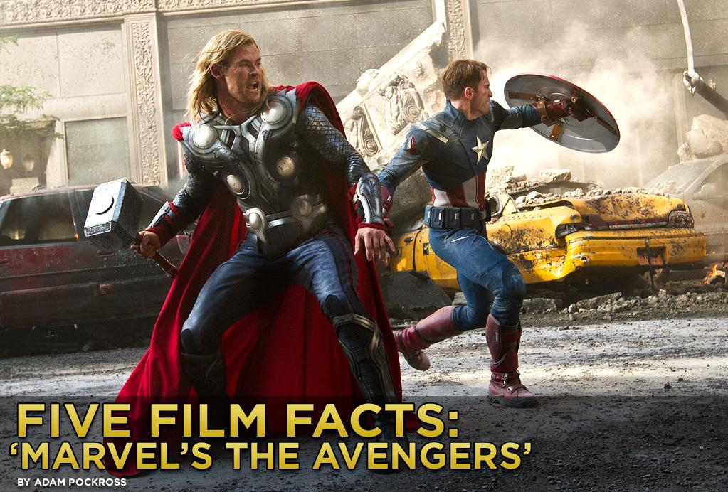 "The summer movie season officially kicks off in grand fashion when ""<a href=""http://movies.yahoo.com/movie/the-avengers-2012/"">Marvel's The Avengers</a>"" opens in over 4,000 theaters this weekend. With a cast that assembles Hollywood heavyweights to play some of the most beloved superheroes from the Marvel comic book universe, the movie is as close as you get to a sure thing at the box office. Since opening No. 1 in all 39 international markets it debuted in last weekend, the action-packed blockbuster has already amassed over $260 million abroad. When domestic ticket sales are added to the equation, many experts predict the superhero supergroup will pass the billion dollar mark with cape-flying colors. We all know ""The Avengers"" is going to make gobs of loot, and by most critical accounts it deserves to, but here are five fun facts you may not know about the film."