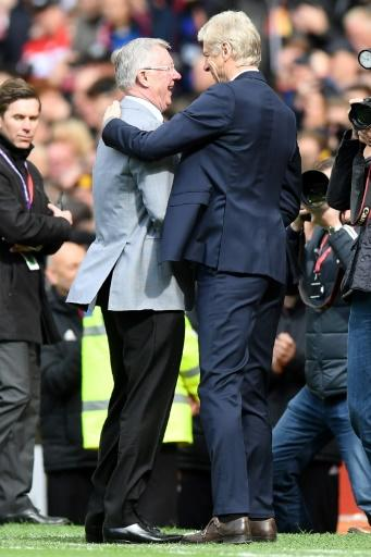 Arsenal's Arsene Wenger enjoyed an epic rivalry with Alex Ferguson on the pitch, but was among those to wish the Scot a speedy recovery