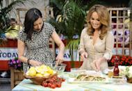 """<p>This was the show that gave everyone hope that they could eat pasta and still look like <a href=""""https://www.delish.com/cooking/videos/a57547/snackdown-giada-de-laurentiis-vs-julianne-hough/"""" rel=""""nofollow noopener"""" target=""""_blank"""" data-ylk=""""slk:Giada De Laurentiis"""" class=""""link rapid-noclick-resp"""">Giada De Laurentiis</a>. That's because even with all the cheese and carbs Italian food's famous for, De Laurentiis kept her recipes light and refreshing — so you could actually eat them every day.</p>"""