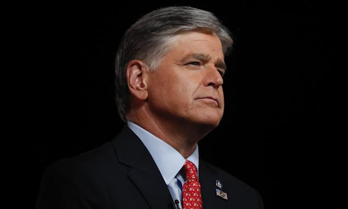 Sean Hannity has been accused of dabbling in anti-vaxx ideas, after he hemmed and hawed over whether he'd get vaccinated.