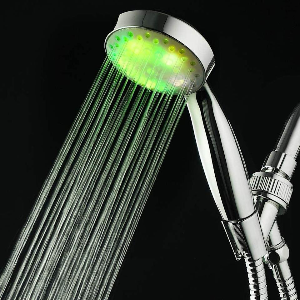 <p>We all know someone who would love this <span>LED Showerhead</span> ($20).</p>