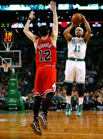 Jerryd Bayless can change games when his jumper's falling. (Jared Wickerham/Getty Images)