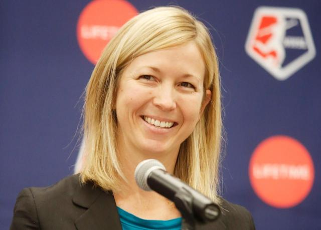 NWSL president Amanda Duffy and the league announced Louisville will be the 10th franchise. (Getty)