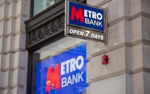 Metro Bank - Credit:  Paul Grover for the Telegraph