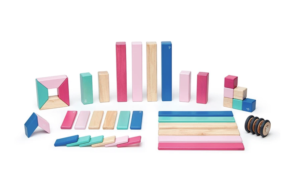 "<p><strong>Tegu</strong></p><p>tegu.com</p><p><strong>$120.00</strong></p><p><a href=""https://tegu.com/collections/building-blocks/products/tegu-magnetic-wooden-block-set-42-pieces?variant=17539685482586"" rel=""nofollow noopener"" target=""_blank"" data-ylk=""slk:Shop Now"" class=""link rapid-noclick-resp"">Shop Now</a></p>"