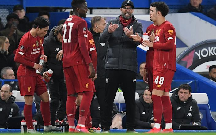 Liverpool suffered defeat to Chelsea in the FA Cup in midweek - AFP