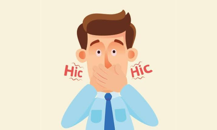 What are hiccups and how do they occur?