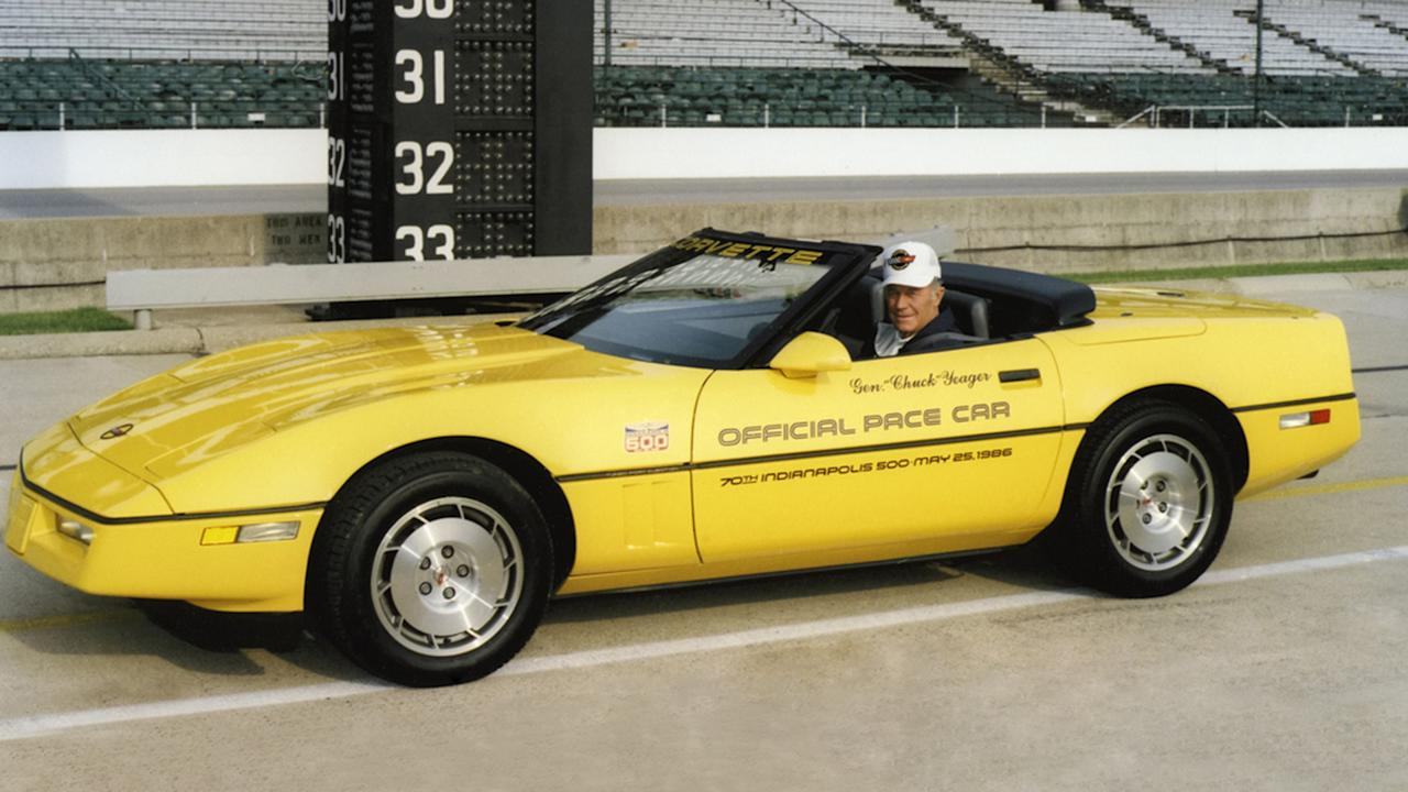 """<p>It took until 1986 for a Corvette to return as the Indy 500 pace car.</p> <p>The year also marked the return of the convertible body style for the first time since1975, so Chevy made sure to put the droptop at the front of the field.</p><h2>The Two Most Recent Indy 500 Pace Cars:</h2><ul><li><a href=""""https://www.motor1.com/news/438769/2020-corvette-indy-pace-car/?utm_campaign=yahoo-feed"""">2020 Chevy Corvette C8 Will Be Indy 500 Pace Car</a></li><br><li><a href=""""https://www.motor1.com/news/316536/chevrolet-corvette-grand-sport-indy-500/?utm_campaign=yahoo-feed"""">2019 Chevrolet Corvette Grand Sport Will Pace The Indy 500</a></li><br></ul>"""