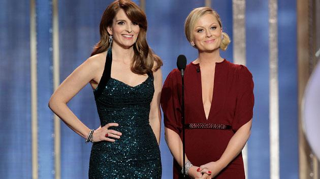 Tina Fey and Amy Poehler host the 70th Annual Golden Globe Awards show