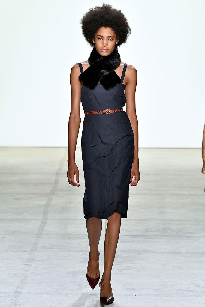 <p>The runway show featured women with various hair types, textures, and cuts.(Photo: Getty Images) </p>