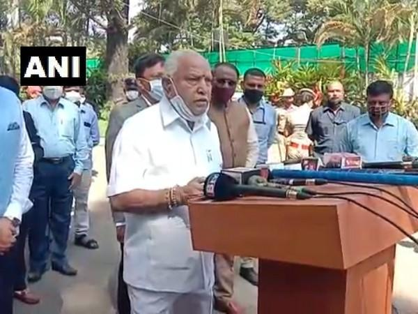 Chief Minister of Karnataka, B.S. Yediyurappa (Photo ANI)