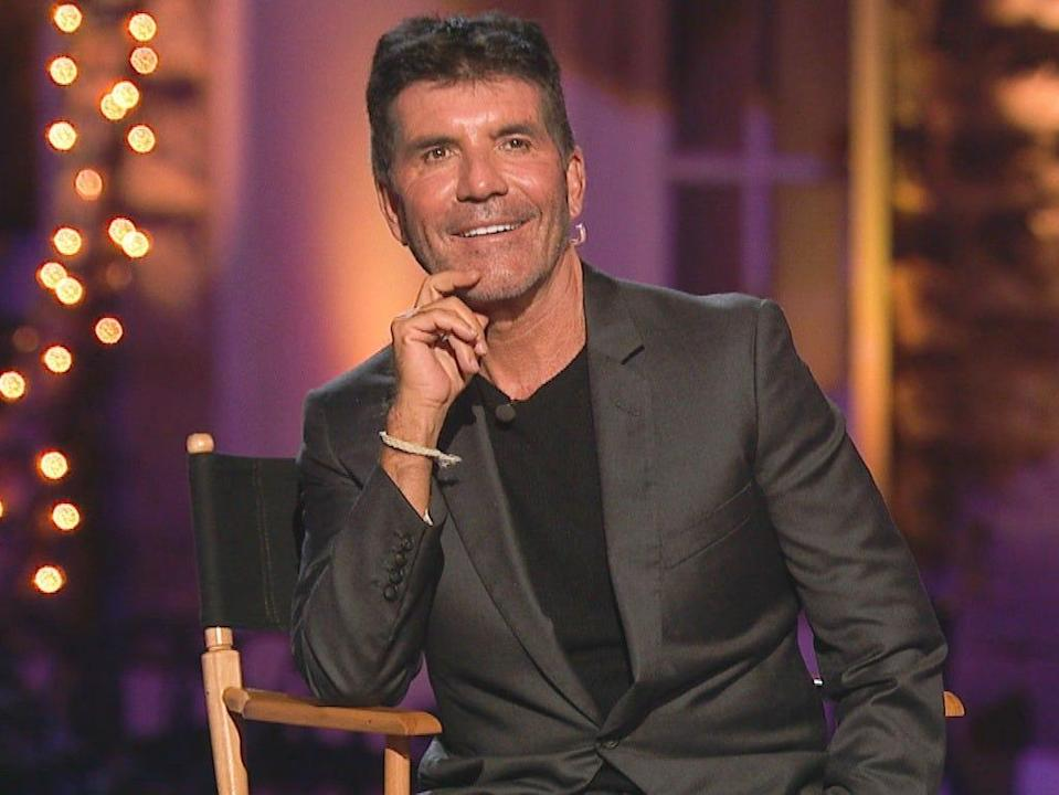 Simon Cowell is recovering from surgery on his back after falling off an e-bike.