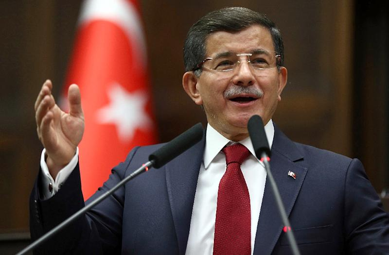 Turkish Prime Minister Ahmet Davutoglu says he hopes the crisis with Russia will be overcome without the need for sanctions