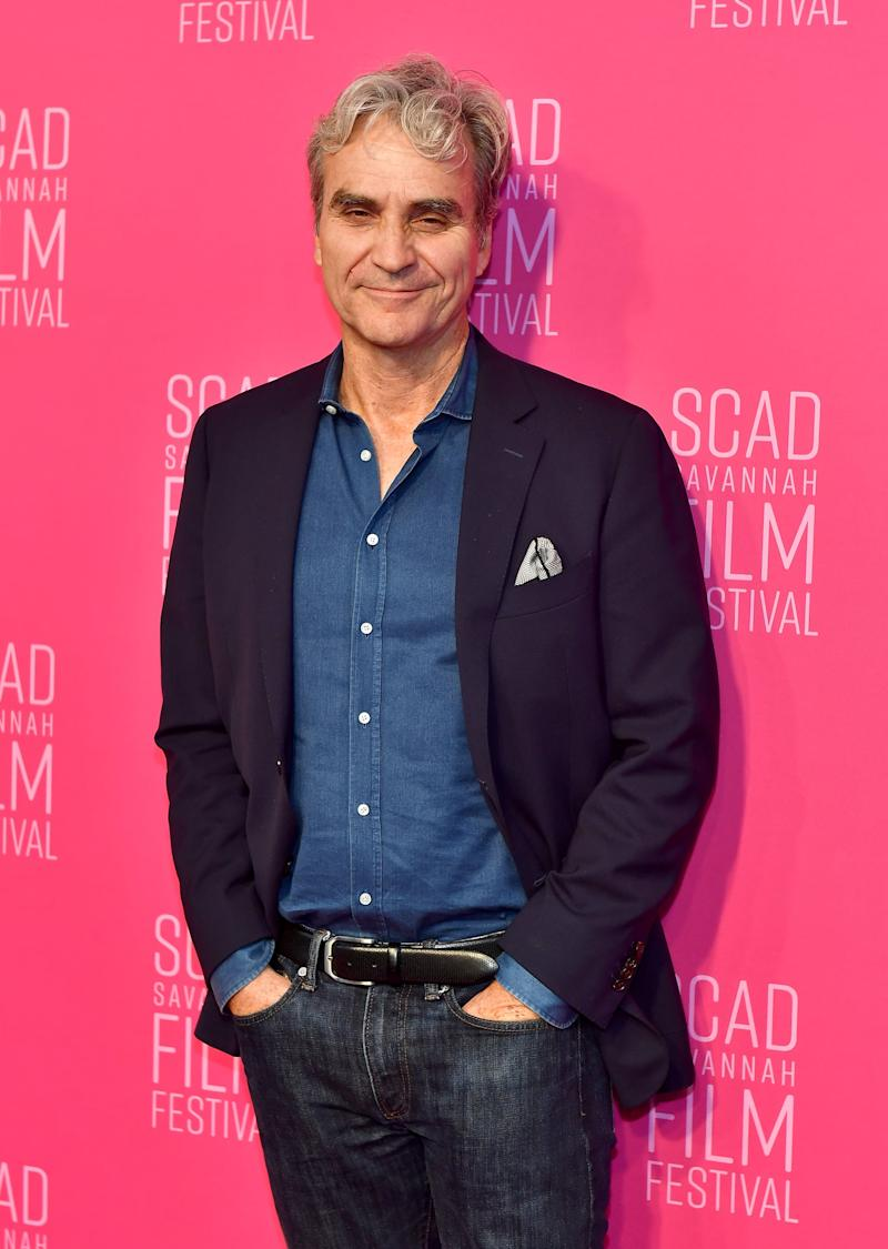 SAVANNAH, GEORGIA - NOVEMBER 02: Journalist Tom Junod attends the closing night of the 22nd SCAD Savannah Film Festival on November 02, 2019 at Trustees Theater in Savannah, Georgia (Photo by Paras Griffin/WireImage,)