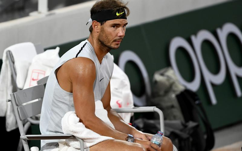 Life looks very different for Nadal at the French Open this year - GETTY IMAGES