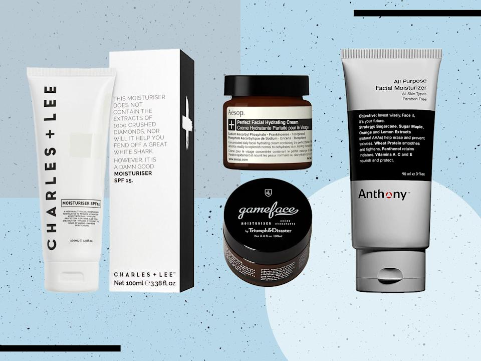 Make your skin a priority with our pick of men's products on offer (iStock/The Independent)