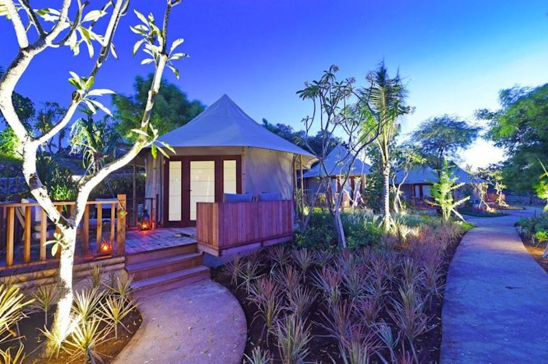 There is a safari-themed and tented accommodation option at the resort. Source: Deborah Dickson-Smith