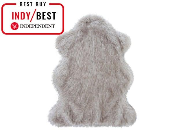 This faux fur rug looks like the deal dealHelen Moore